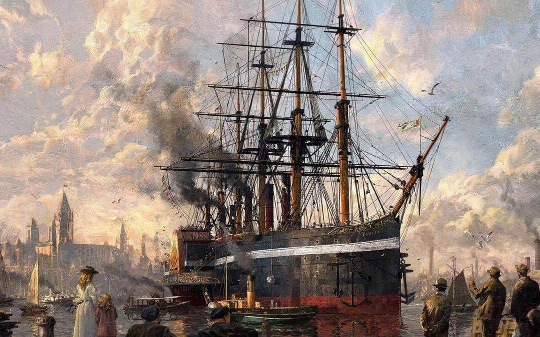 Führe eine industrielle Revolution und schreibe Geschichte mit Anno 1800.